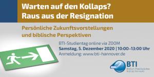 Online Studientag Dezember 2020
